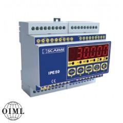 Weegindicator en meetversterker type IPE50 DIN