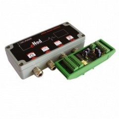load cell junction box met meetversterker