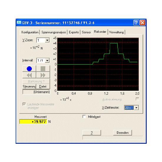 GSV control software