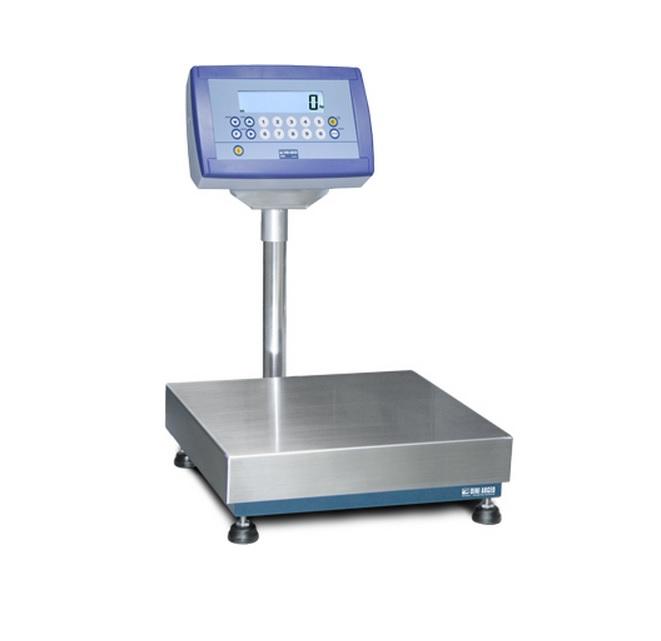 Vloerweegschaal EASYPESA met DFWK06XPCC indicator