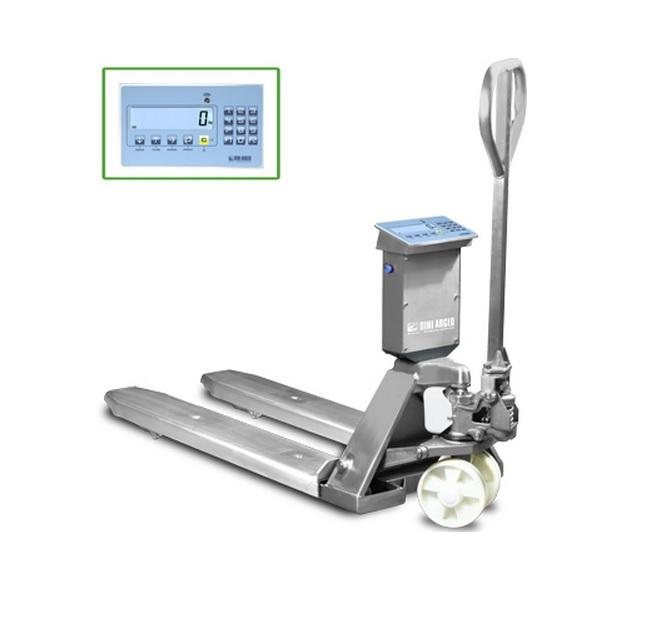 palletwagen met weegsysteem type TPWLKI