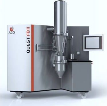 R&D Fluid Bed Systeem