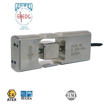 hygiënische load cell AVS