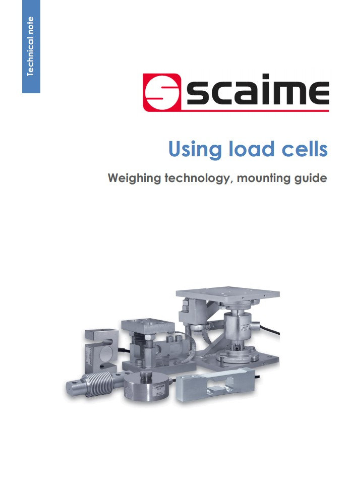Gebruiksaanwijzing - Using load cells