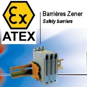 ATEX - IECEx weging met zener barriers