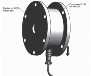 Baanspanning sensor R-P134/159