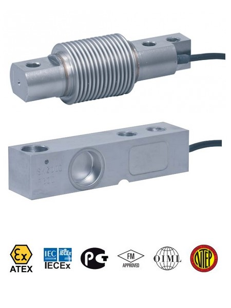 Buigstaaf opnemer / shear beam load cell