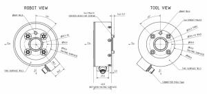 6-assige kracht/koppelsensor F6D100-50
