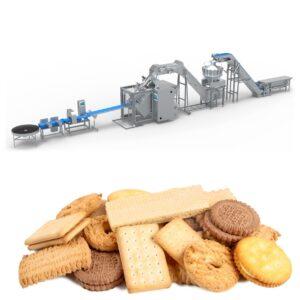 verpakkingslijn voor koekjes