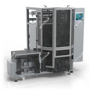 Verpakkingsmachine voor blokzakken