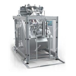 verticale verpakkingsmachine met optionele kantelbuis